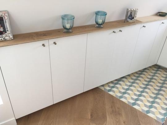 Installation d'une cuisine équipée